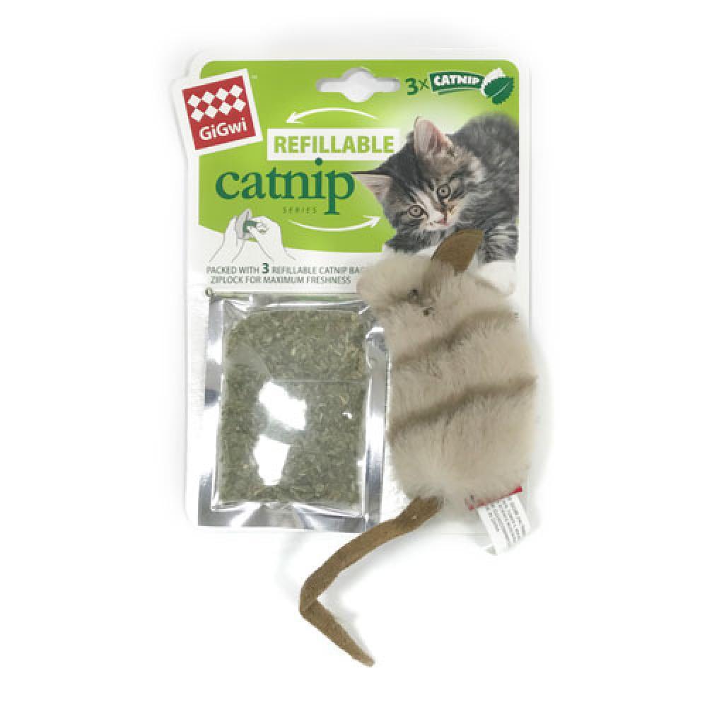 GiGwi 캣닢 물무늬 쥐 (Art 7052)