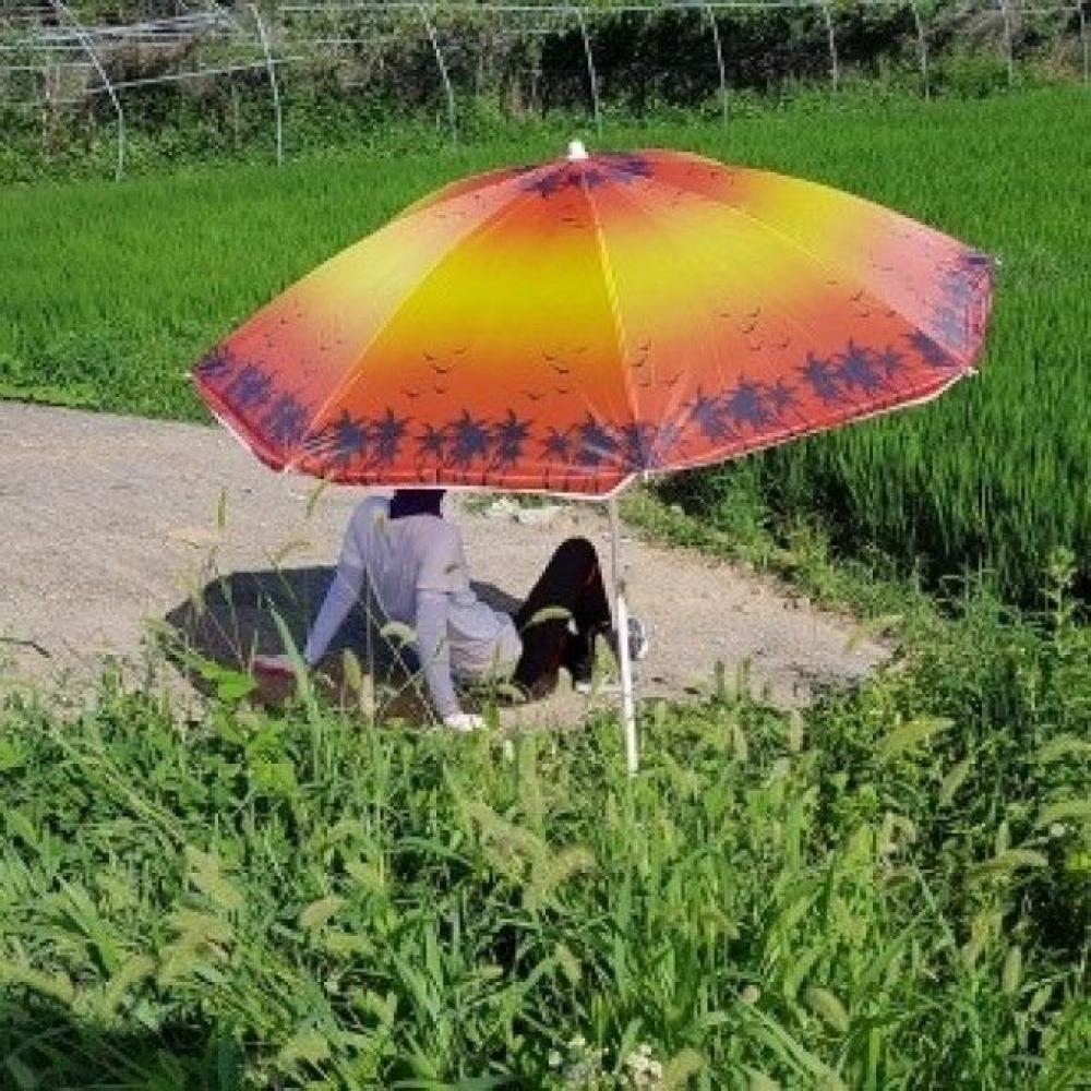 심플한 낚시파라솔 햇빛가리개
