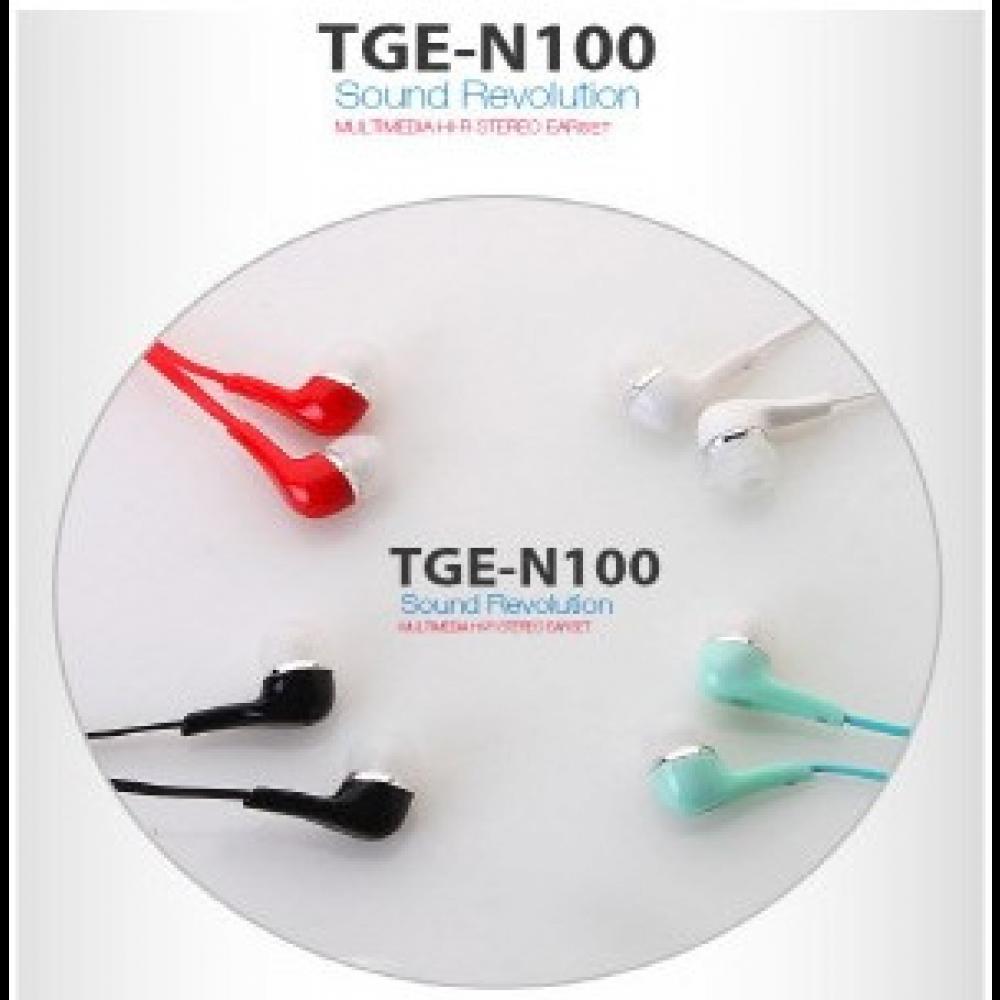 스마트폰 이어폰 TG (TGE-N100)레드