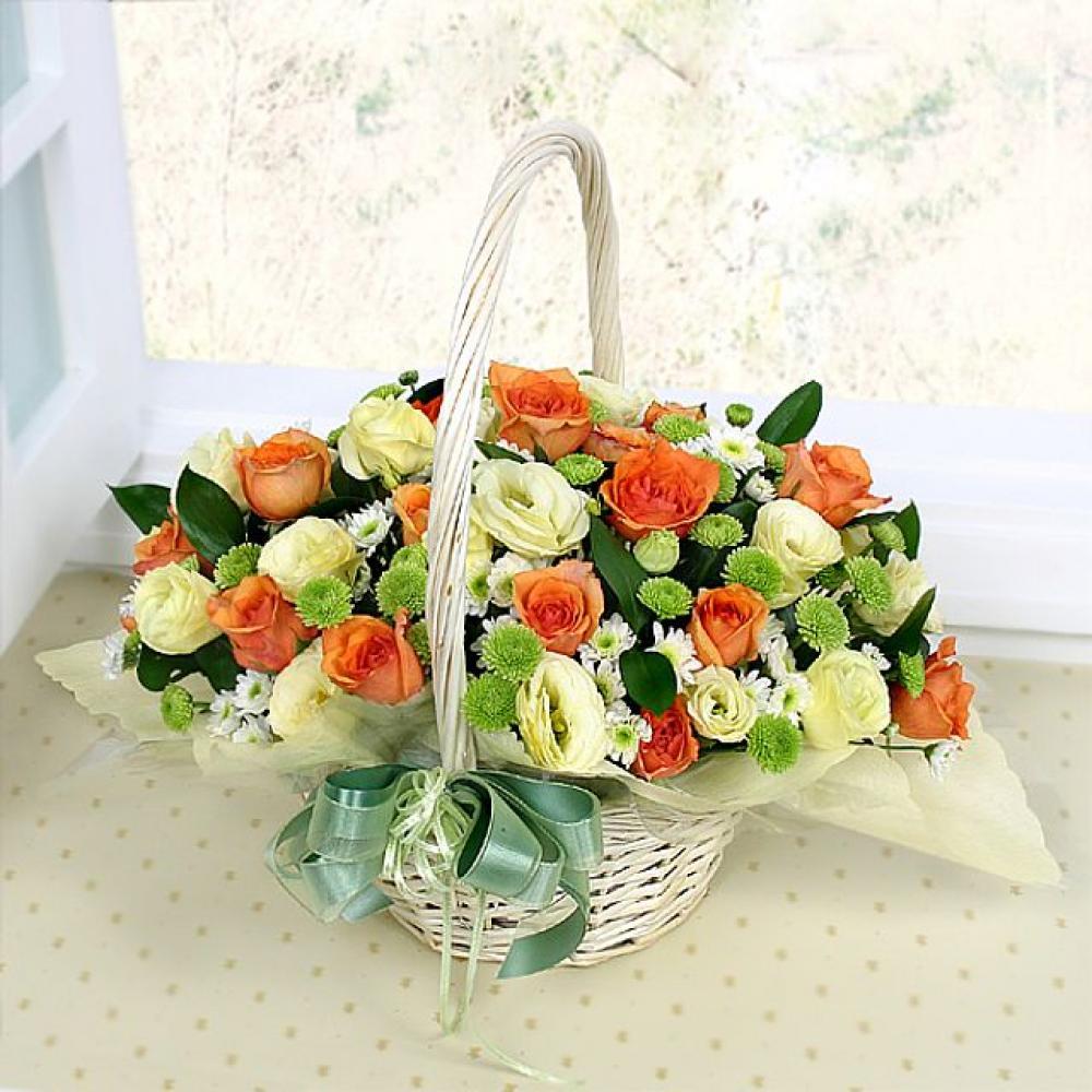 내친구 꽃바구니 (대급) 기념일 꽃배달 꽃선물