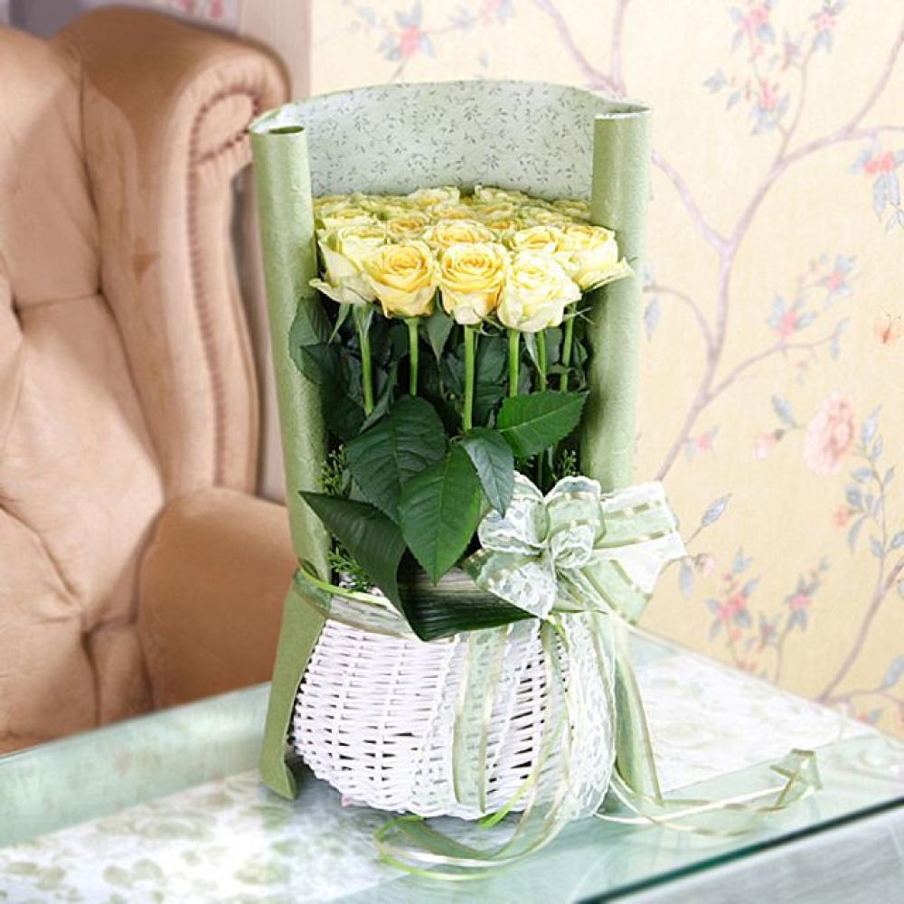 당신만이 꽃바구니 (중급) 기념일 꽃배달 꽃선물