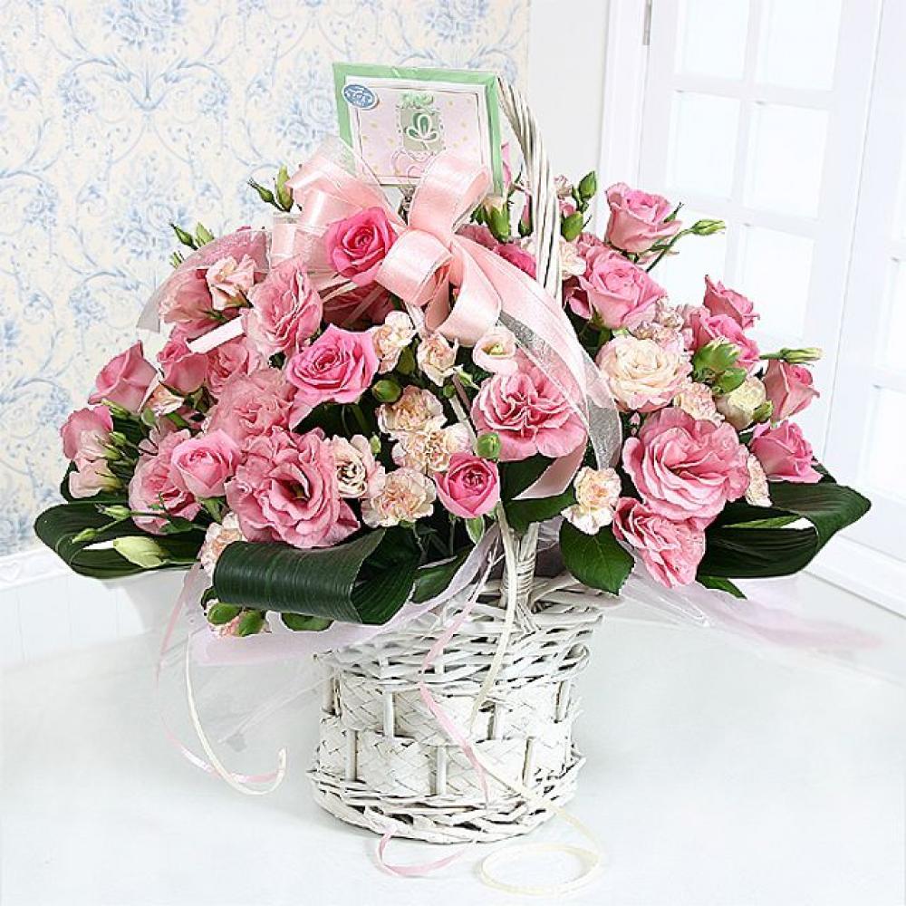 뷰티플 꽃바구니 (중급) 기념일 꽃배달 꽃선물