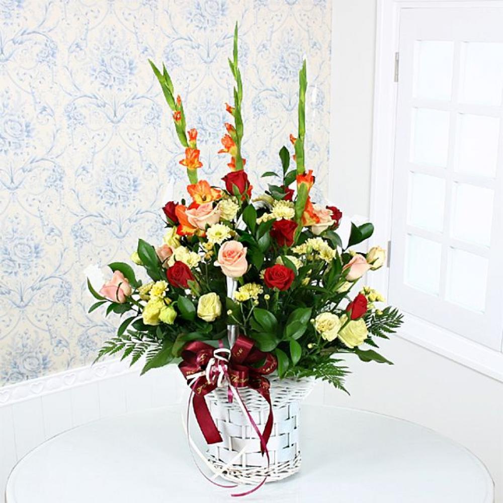그대 여 꽃바구니 (중급) 기념일 꽃배달 꽃선물