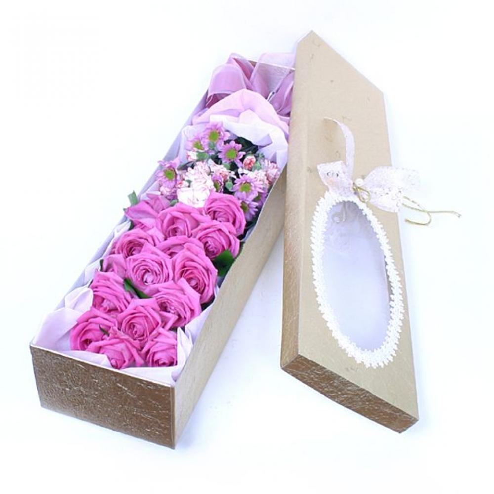 아쿠아 꽃상자 (대급) 기념일 꽃배달 꽃선물