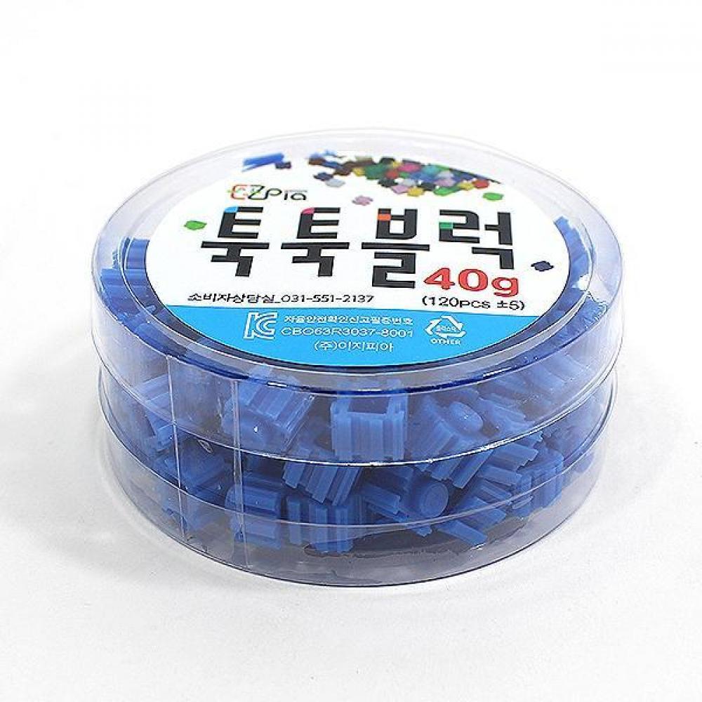 이지 툭툭블럭 40g (파랑) 5개묶음