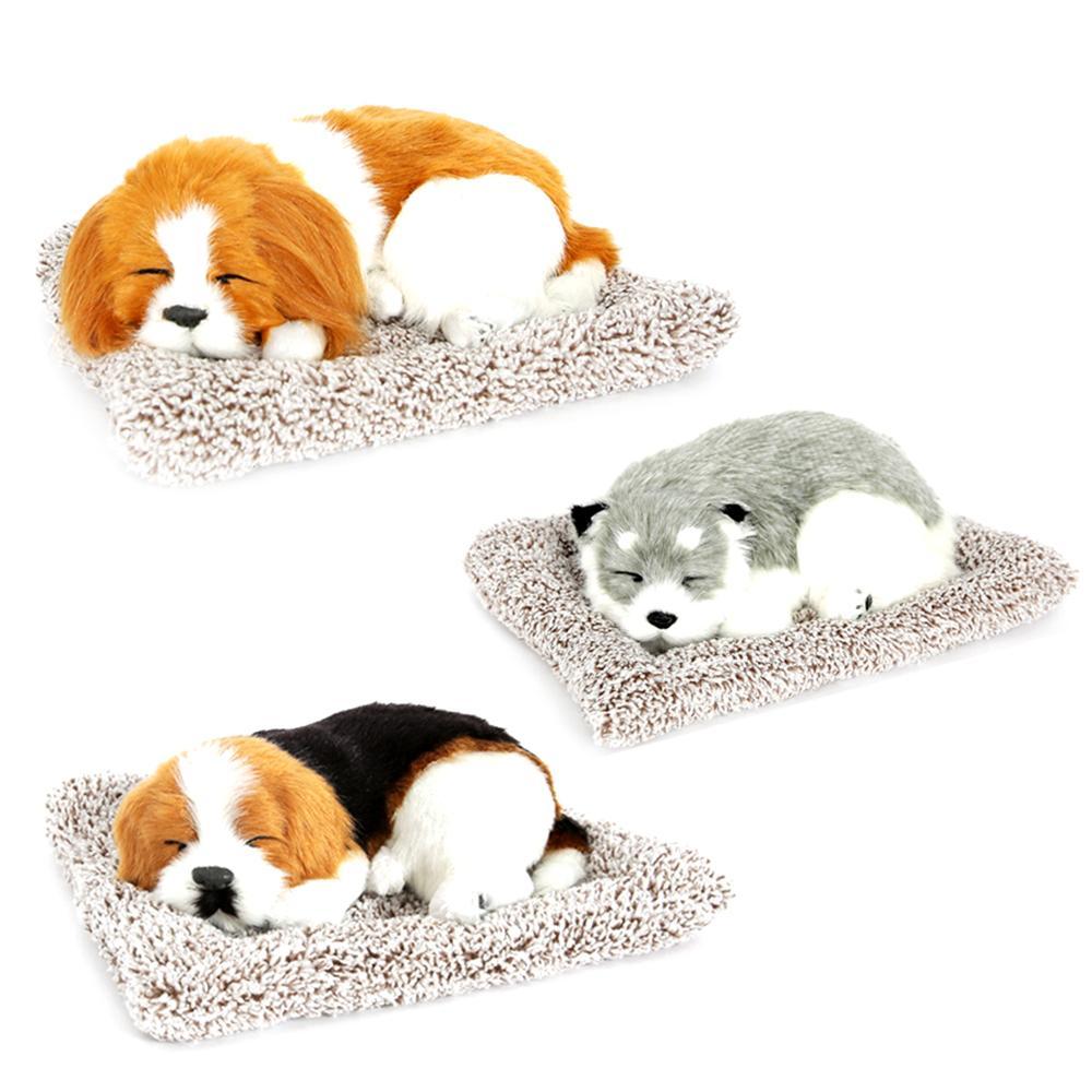리얼사이즈 리얼펫 강아지 고양이 인형 차량용 탈취제 방향제 제습인형