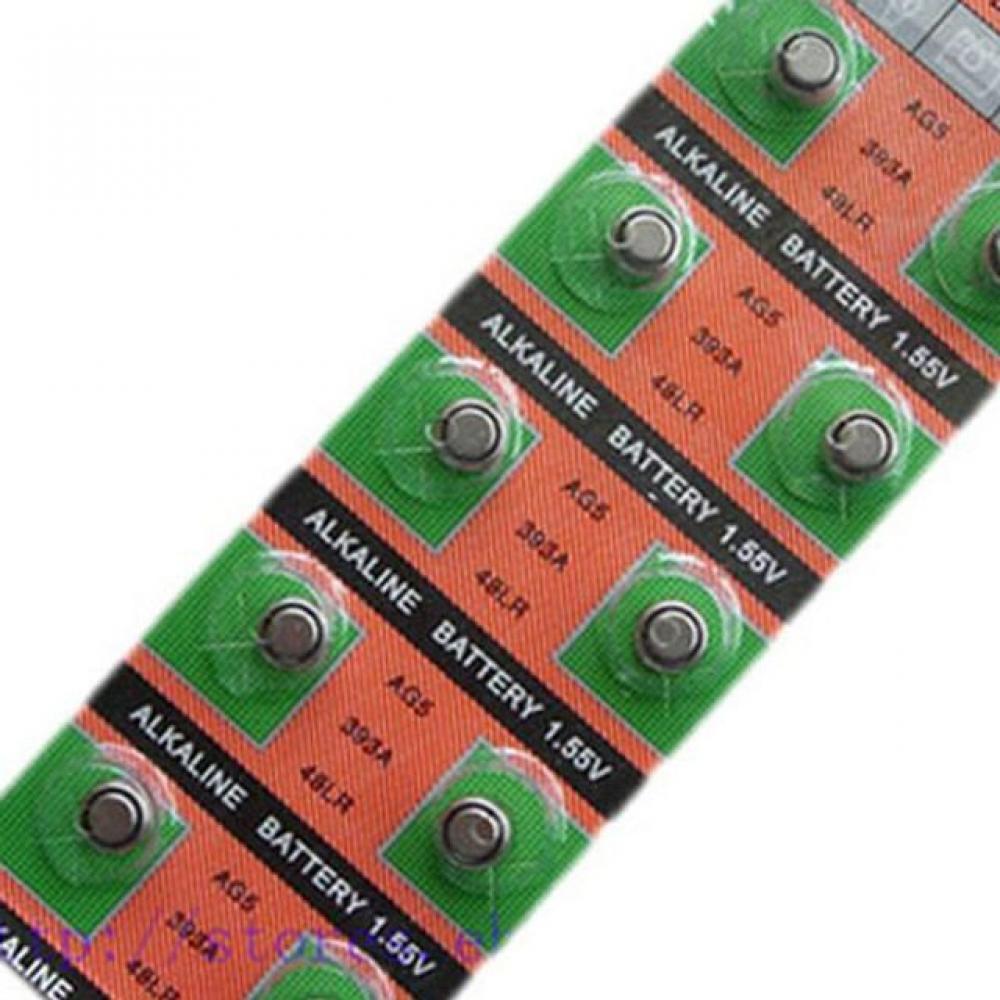AG5 낱개 수은전지 배터리 건전지 수은건전지